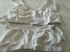 2 Stück Bekleidungs Paket  90C Damen BH ohne Bügel, Weiß, Top