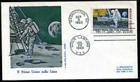 """1969 - U.S.A. - Conquista della Luna - Annullo """"Moon Landing - Jul 20 1969"""""""