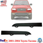 Lower Grille Filler Panel Smooth Black Set Of 2 For 2001-2004 Toyota Tacoma