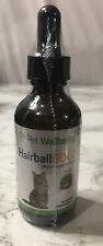 Pet Wellbeing HAIRBALL GOLD for Cats Helps Manage Hairballs 2oz