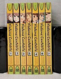 Nodame Cantabile Manga English 1-7, 1 2 3 4 5 6 7, Ages 16+