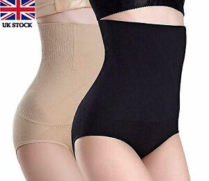 Women's High Waist Shapewear Tummy Control Underwear Panties Slimming Knickers