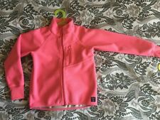 Polarn O Pyret POP Kids Windproof Fleece Jacket PINK 7-8 Years