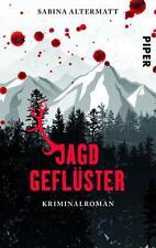 Altermatt, Sabina - Jagdgeflüster: Kriminalroman