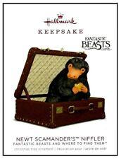 2018 Hallmark Harry Potter Fantastic Beasts Newt Scamander's Niffler Ornament!