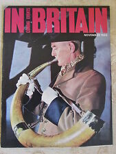 Vintage Magazine Coming Events In Britain November - 1964