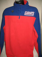 NFL New York Giants Football Polar Fleece Sweatshirt Mens Sizes Majestic Nwt