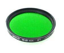 52mm MILO X1 Filter - GREEN B&W Contrast - NEW