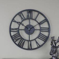 Orologi da parete analogici rotondi in ferro