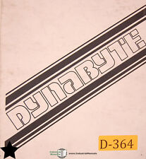 Dynabyte DB8/1, Z80 CPU System Operations and Wiring Manual Year (1979)