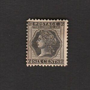 CANADA 1872 PRINCE EDWARD ISLAND SIX CENTS STAMP MINT