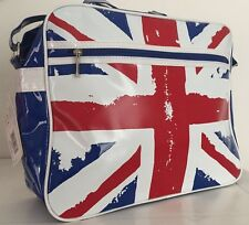 Robin Ruth Union Jack Retro Satchel Shoulder Bag Unisex