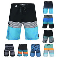 Men's Beach Vacation Stretch Fast Dry Lightweight Swimming Surfing Board Shorts