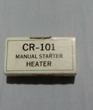 GE CR-101, CR123 Manual Starter Overload Thermal Heater H8.02A