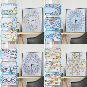 5D Special shaped Wall Clock Diamond Painting Cross Stitch Diamond Crafts D.fr