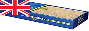 Catit Wide Scratching Board with Catnip 1 Count (Pack of 1)