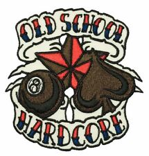 Old School Hardcore PATCH BRODE écusson