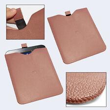 """custodia in eco pelle sacchetto marrone per apple ipad mini samsung tab 7"""" 7.9"""""""