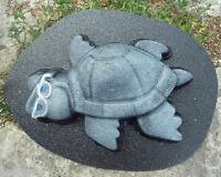 Turtle mold concrete plaster garden mould
