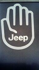 JEEP WAVE Wrangler JK CJ Cherokee Sticker Liberty Crawling Fun Window Decal