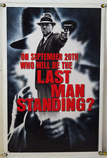 LAST MAN STANDING DS ROLLED TSR ORIG 1SH MOVIE POSTER BRUCE WILLIS (1996)