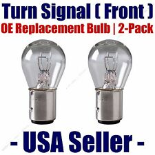 Front Turn Signal/Blinker Light Bulb 2pk- Fits Listed Dodge Vehicles - 1157