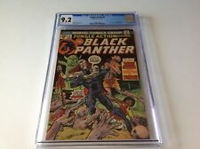 JUNGLE ACTION 9 CGC 9.2 BLACK PANTHER 1ST BARON MACABRE GIL KANE MARVEL COMICS