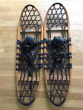 Vintage Snocraft Rawhide & Wood Snowshoes 10 36 Norway Maine