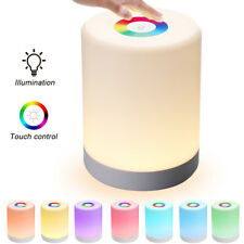 New Smart Colorful Night Light Night Table Adjustable Led Rechargeble  Lamp