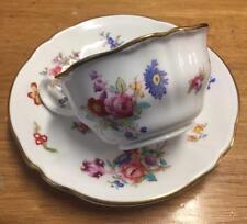 Antique English COPELAND SPODE cup & saucer Dresden Rose