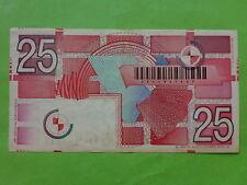 Netherlands Holland 25 Gulden 5-April-1989 (Used) 2231931607