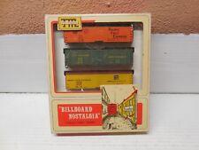 Ho Scale  Train-Miniature 8707 Billboard Nostalgia Pacific Fruit Express