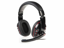 GAMING HEADSET HEADPHONE WITH MICROPHONE MIC COMPUTER LAPTOP PC NATEC H11