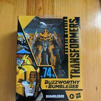 Transformers Studio Series #74 Buzzworthy Bumblebee New/Sealed