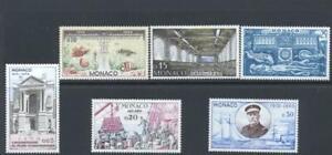 Monaco 1960 SG 686-91 Oceanographic Museum Ships  MH