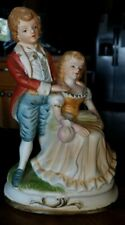 Fine Porcelain Figurine. Rare Couple, Very Good Pre-owned condition,Look Flambro