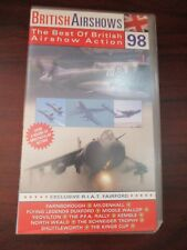 British Airshow Action 1998  VHS Video Tape