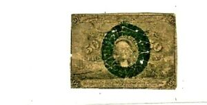 """50 CENT """"FRACTIONAL CURRENCY"""" 1800'S (WASHINGTON) 50 CENT """"FRACTIONAL  1800'S"""