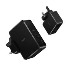 ESR Official USB C PD Charger 41W Power Supply For Fast Charging USB 5V Black UK