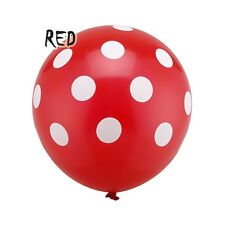 "12"" Latex Polka Dot Balloon Multi-Color Party Wedding Birthday Decor 10/20pcs"