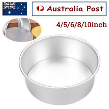 4/5/6/8/10 Inch Cake Mold Round DIY Cakes Pastry Mould Baking Tin Pan Reusable