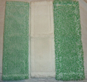 Jemako Bodenfaser, 3x Bodenpflege Faser (grün kurz, grün lang, weiß kurz) NEU