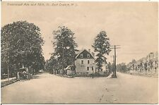 Greenwood Avenue and 19th Street in East Orange NJ Postcard