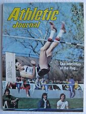 """1974 March """"Athletic Journal"""", Dwight Stones, Track Star, 98 pages"""