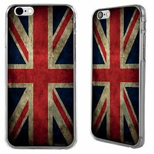 United Kingdom Retro UK Flag for Apple iPhone 6 Printed Hard Case Cover stika.co
