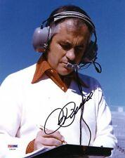 ROGER PENSKE SIGNED 8x10 PHOTO NASCAR INDYCAR AUTO RACING LEGEND RARE PSA/DNA