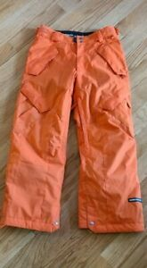 Ride Snowboard Pants Men's Small RN86918 CA30195 Orange Preowned