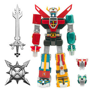 "Super7 Voltron Defender of the Universe Ultimate Voltron 7"" Figure Sword Shield"