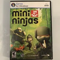 Mini Ninjas (PC DVD, 2009) Video Game for Windows