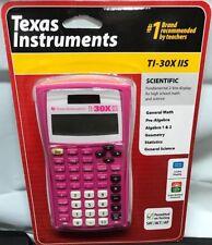 Texas Instruments TI-30X IIS Solar Scientific Calculator 2-Line Display Pink